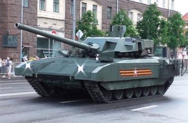 Танки Т-14 «Армата» могут дать Индии преимущество над Китаем
