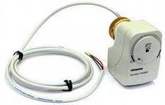 Клапан с электроприводом для вентиляции