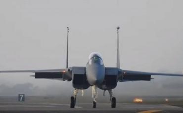 Истребитель США потерпел крушение над Северным морем