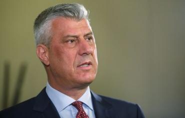 Спецпрокуратура предъявила президенту Косово обвинения в военных преступлениях