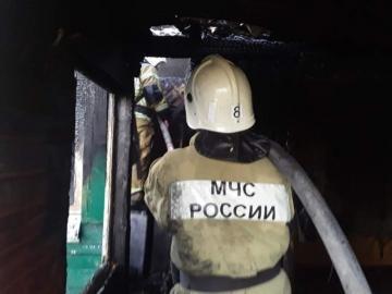В Курске в жилом доме сгорели веранда и морозильная камера