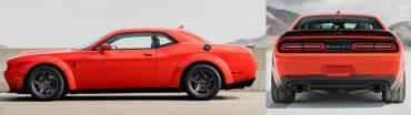 Модели Dodge Challenger иCharger оказались ещё безумнее