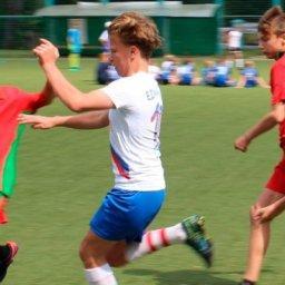 В Курске стартовал спортивный проект «Дворовый мяч»