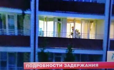 На фото: телевизионные кадры задержания граждан России в Беларуси, 02 августа 2020 года