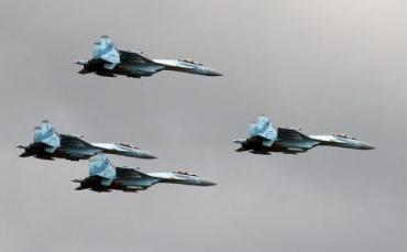 На море: истребители Су-35