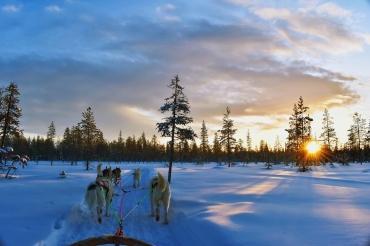 Отдых зимой в Финляндии
