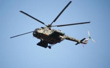 На фото: вертолет Mi-171Sh