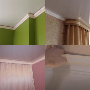 Можно ли использовать потолочные плинтусы с натяжным потолком