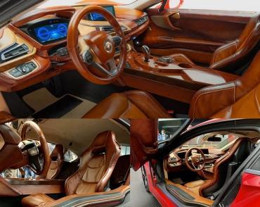 Суперкар Taraschi Berardo «воскресил» гибрид BMW i8