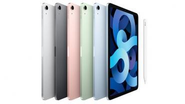 В России уже можно купить iPad Air 2020 – первый планшет Apple, который может быть зеленым и голубым