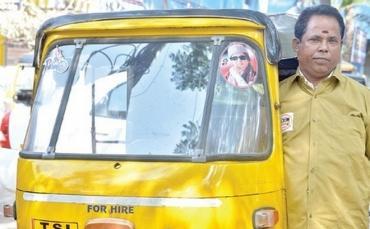 Гуманный водитель рикши