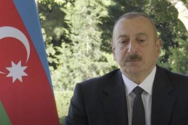 Президент Азербайджана обвинил Россию в поддержке армянской армии