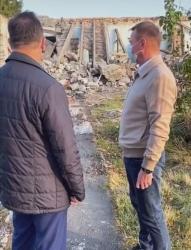 Курский губернатор увидел руины на месте нового детсада