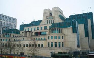 На фото: штаб-квартира британской секретной разведывательной службы МИ-6