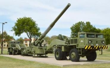 На фото: пушка Strategic Long Range Cannon