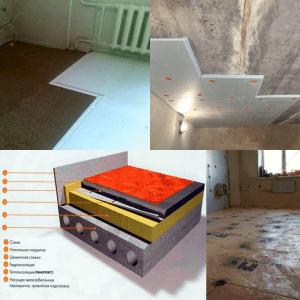 Как утеплить пол первого этажа в панельных домах
