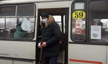 В Курске во время рейда 5 пассажиров и 1 водитель были без масок