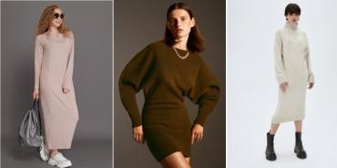 Трикотажное платье: маст хэв зимы 2021. Какое покупать?