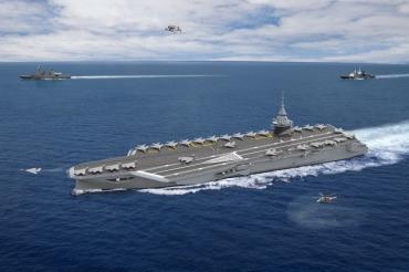 Флот Франции усилит авианосец с ядерным двигателем за $6 млрд