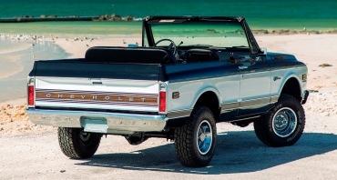 Рестомод Chevrolet Blazer K5 получил V8 от Корвета