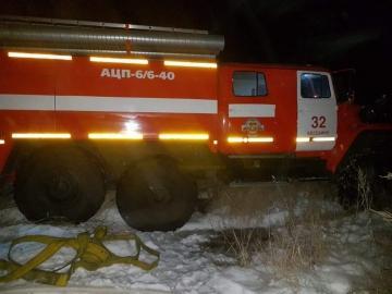 При пожаре под Курском погиб 45-летний мужчина