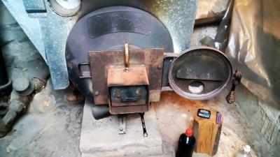Сколько горит 1 литр отработки в обычной печи