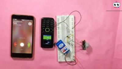 Как из старого мобильника сделать охранную систему с датчиком движения