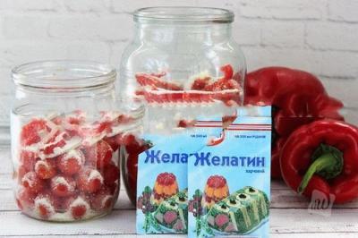 Помидоры в желатине на зиму без стерилизации и со стерилизацией: рецепты с фото пальчики оближешь