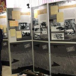 В Курской области продолжает работу выставка «Без срока давности»