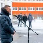 Роман Старовойт принял участие в открытии памятного знака курским медикам