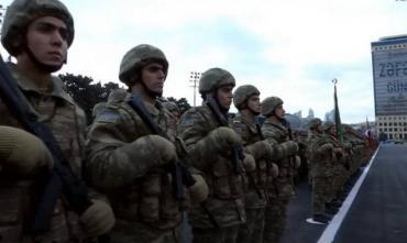 В Баку провели парад в честь победы в Карабахе