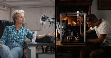Тату-мастера смогут работать удаленно с помощью новой роботизированной системы
