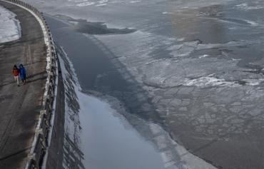 Прошедшая ночь побила рекорд холода для 10 марта в Москве