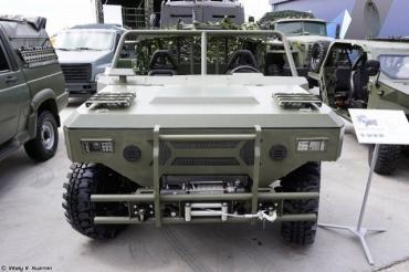 Лёгкие транспортные средства семейства «Сармат» для Минобороны РФ