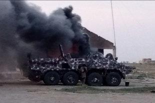 Сирийские БТР-152 вооружили мощными пулеметами