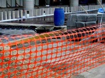 Ограждение строительной площадки и территории работ