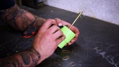 Как отлить рукояти на ручной инструмент из эпоксидки