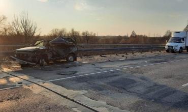 В Курской области на федеральной трассе М2 разбился насмерть водитель