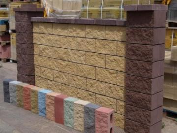 Бетонные блоки – отличный материал для строительства заборов