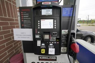 Больше половины заправок в четырех штатах США остались без бензина