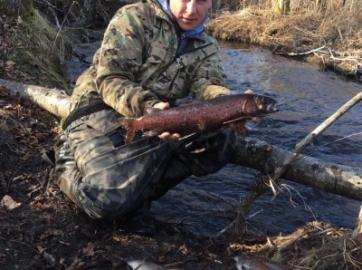 Ради горной рыбалки можно многое преодолеть