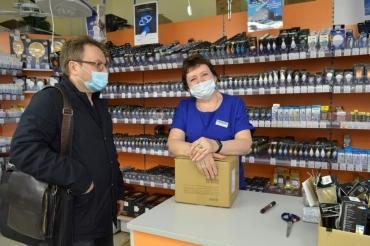 В Сеймском округе Курска проверили соблюдение масочного режима в 40 магазинах