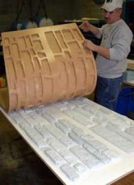 Формы для изготовления бетонных заборов – материалы, область применения