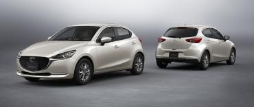 Mazda 2 получила улучшенный мотор и специальную версию