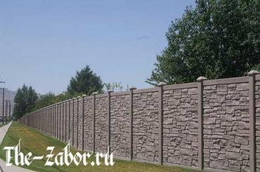 Как самостоятельно построить бетонный забор?
