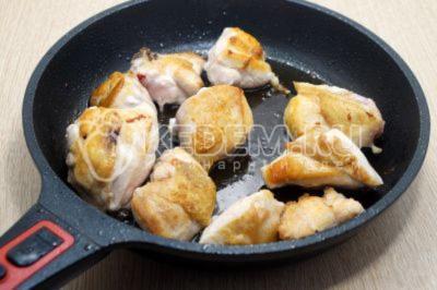 Запеканка из пшена c курицей