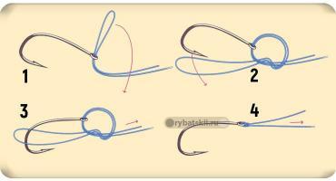 Как правильно привязать два крючка на удочку и когда стоит это делать