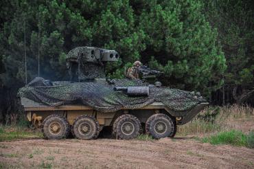 Морпехи США привезли на Украину устаревшие противотанковые бронемашины