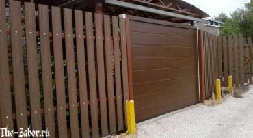 Забор из террасной доски – в чем преимущества декинга?