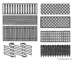 """Забор """"Решетка"""" – оригинальная ограда для загородного дома"""